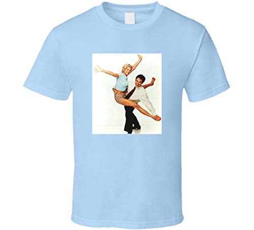 Dharma and Greg Tee Retro TV Show T-Shirt hellblau Gr. L, blau