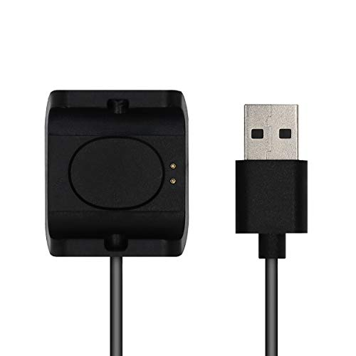 kwmobile Conector de Carga Compatible con Huami Amazfit Bip S (A1805/A1916) - Cable USB con Base de conexión para Fitness Tracker y smartwatch