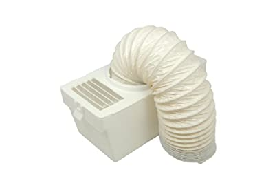 Hotpoint Tumble Dryer Indoor Condenser Vent Kit + Hose + Box from Spares4appliances