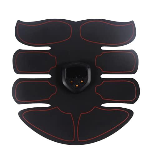 Shapewear Electroestimulador Muscular Abdominale Cinturón, Músculos Abdominales, 6 Modos de Simulación, 10 Niveles Diferentes, para Abdomen/Cintura/Pierna/Brazo de Hombre y Mujer