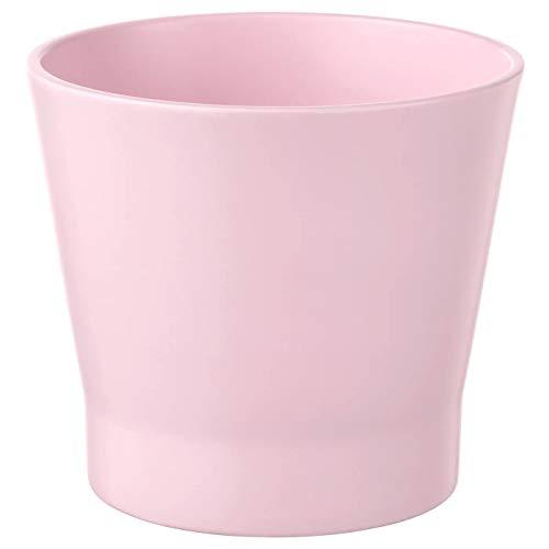 Maceta rosa claro, 9 cm, tamaño montado, altura 9,5 cm, diámetro exterior: 11 cm máx. Maceta Diámetro: 9 cm Diámetro interior: 9 cm