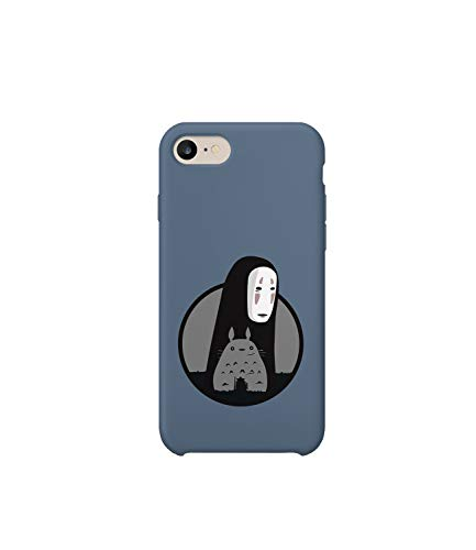 GlamourLab Spirited Away My Neighbor Totoro Friends Close Cercle_R3907 Protective Case Cover Hard Plastic Compatible with for iPhone 6 Plus Funny Gift Christmas Birthday Novelty
