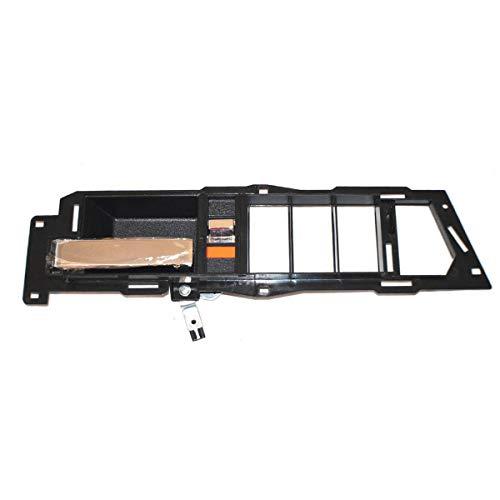 AUTEX Chrome Lever and Black Housing Interior Door Handle Front Left Driver Side Compatible with Chevrolet Blazer 1992-1994 Compatible with GMC C/K 1500 2500 3500 Suburban 1988-1994 7128 61205 93 Truck Front Door