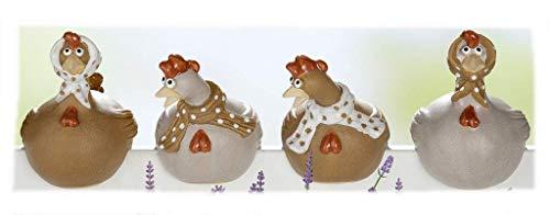 GILDE keramisk gryta/figur till påsk serie tandsticka kyckling gerda 1 st. 1 modell sorterad