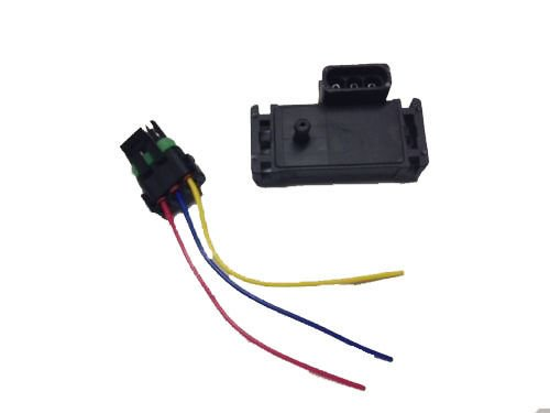 Linlin 3 Bar MAP Sensor for GM Style Megasquirt Motec Electromotive Turbo with Plug Wire 12223861 16040749