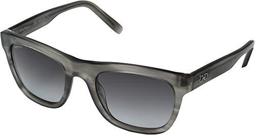 Ferragamo SF825S Aviator Sonnenbrille 53, Grau