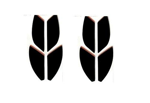 Maus-Skates/Maus-Pads für Finalmouse Scream One/Finalmouse 2016 Gaming-Maus (2 Stück, 0,6 mm)