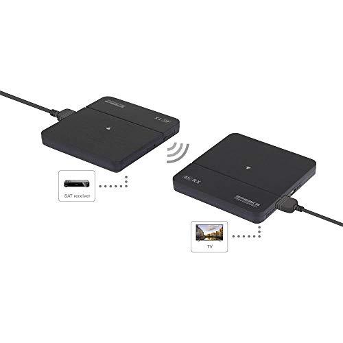 SpeaKa Professional SP-HDFS-02 HDMI-Funkübertragung (Set) 10 m 60 GHz 3840 x 2160 Pixel