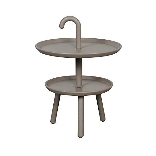 LXDDP Petite Table d'appoint en polypropylène Tables Rondes Table de bistrot en Plein air Mini Table de canapé Table Basse Table à Manger Moderne pour Salon Balcon et Patio