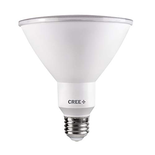 Cree Lighting TPAR38-1803040FH25-12DE26-1-E1 E26-1-E1 PAR38 Weatherproof Outdoor Flood Equivalent LED Bulb (Dimmable) 1500 lumens 3000K, Bright White 150W