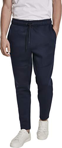 Urban Classics Herren Cut and Sew Sweatpants Sporthose, Blau (Midnight 01641), W(Herstellergröße: 4XL)