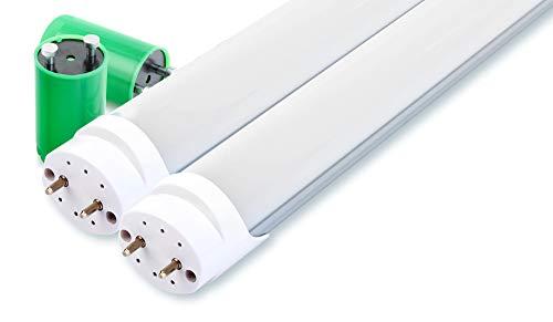 2er Set Showlite LED Röhre 120cm (1200mm Leuchtstoffröhre, T8 G13, 1790 Lumen, 4500 Kelvin, Tageslichtweiß, Leistung: 18W)