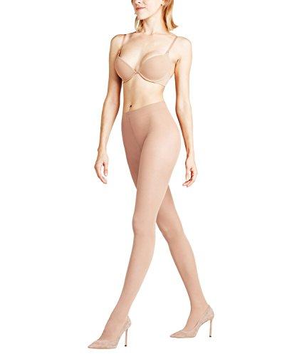 FALKE Damen Strumpfhosen Shaping Top 20 Denier - Transparente, Matt, 1 Stück, Beige (Powder 4069), Größe: M