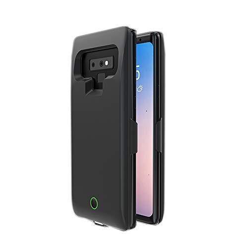 Funda para Samsung Galaxy Note 9, batería Externa de 7000 mAh, Puerto USB, Cargador portátil, Funda de Carga Protectora para Samsung Galaxy Note 9 Negro
