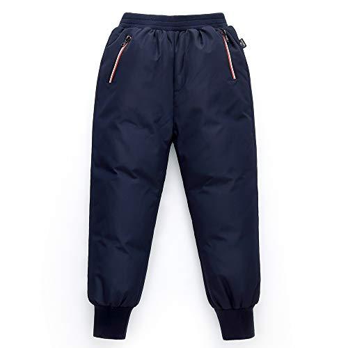 Minizone Bambini Pantaloni in Piuma Ragazzi Ragazze Inverno Pantaloni da Neve Leggero e Caldo Pantaloni da Sci Pantaloni Sportivi per Esterno 2-3 Anni