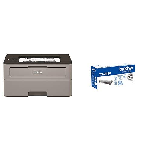 Brother HL-L2350DW Mono Laser Printer with Additional TN-2420 Toner Cartridge