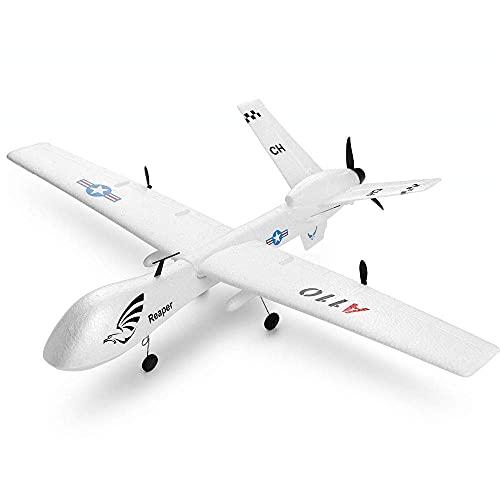 GRTVF Telecomando ad Ala Fissa a 3 canali Aliante di Simulazione Veloce Drone 2.4Ghz Aereo RC Elettrico Pee Aereo RC Adatto per Principianti Regali Giocattolo per Bambini