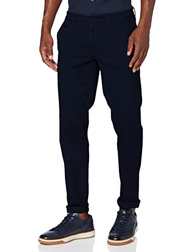 BRAX Herren Style Fabio In Hi-Flex Superelastische Slim Chino Hose, Navy (2020), 33W / 32L