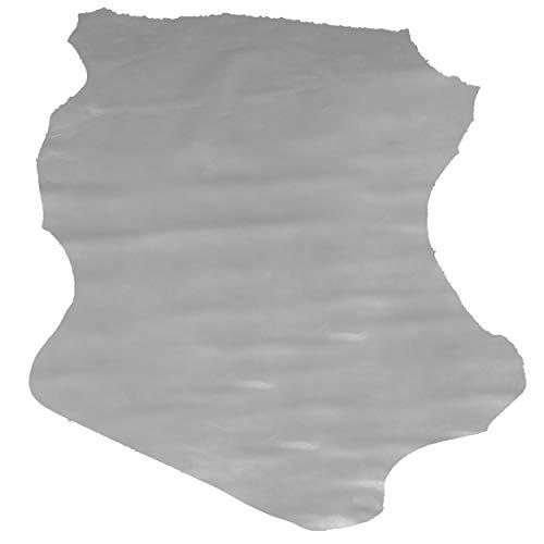 Glacier Wear Select Italian Lambskin Leather - Heather Gray (7.00 to 7.75 sq ft)