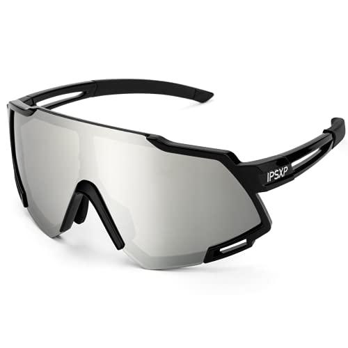IPSXP Gafas de Sol polarizadas para Hombres y Mujeres Gafas de Ciclismo...