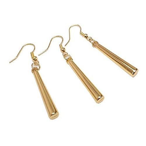Roronoa Zoro - Pendientes de una pieza con clip para disfraz de anime - dorado - talla única