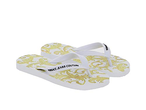 VERSACE JEANS COUTURE Chanclas Mujer Blancas