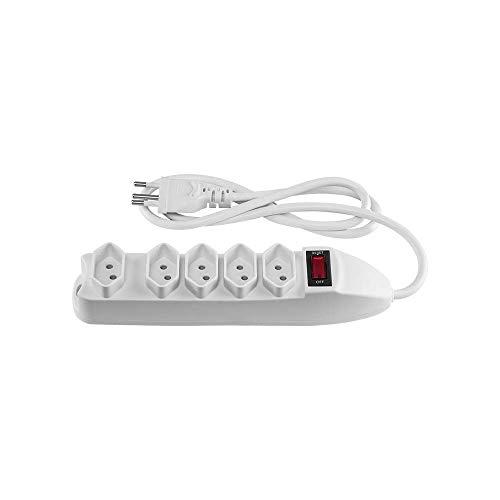 Protetor Eletrônico Intelbras com 5 tomadas EPE 1005 Branco