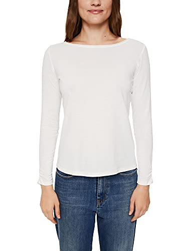 Esprit 101ee1k321 Camiseta, Blanco Crudo, S para Mujer