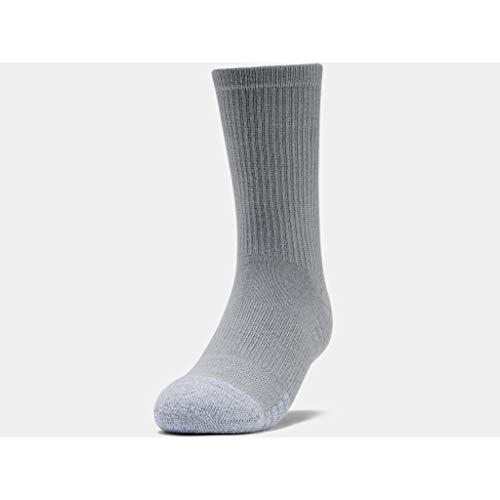 Under Armour Unisex Youth Heatgear Crew, Long Sports Socks, Compression Socks