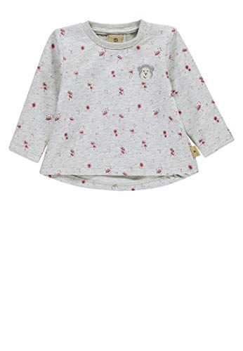 Bellybutton mother nature & me Baby-Mädchen 1/1 Arm Sweatshirt, Mehrfarbig (Allover|Multicolored 0003), 62