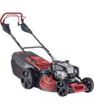 AL-KO Benzin-Rasenmäher Premium 520 VSI-B (51 cm Schnittbreite, 2.6 kW Leistung, Hinterradantrieb variabel einstellbar, Mulchfunktion, Seitenauswurf, Elektrostart, für Rasenflächen bis 1800 m²)