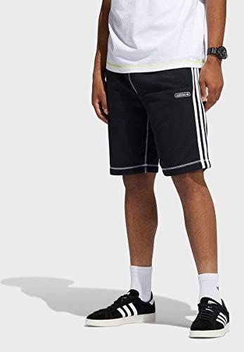adidas GN3882 CNTRST Stitch S Pantaloncini Uomo Black M