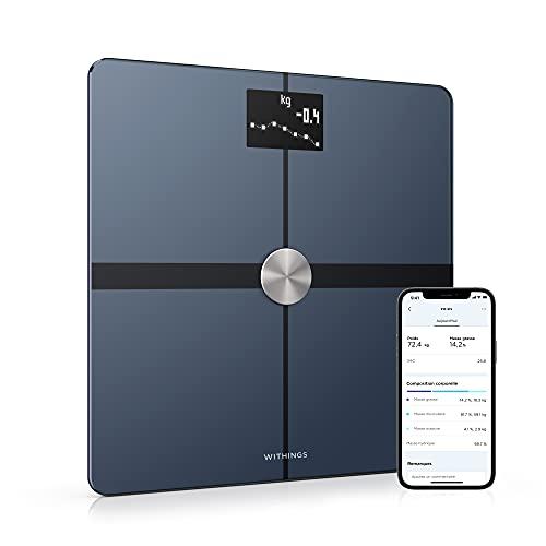 Withings Body+ - Balance connectée WiFi & Bluetooth avec analyse de la...