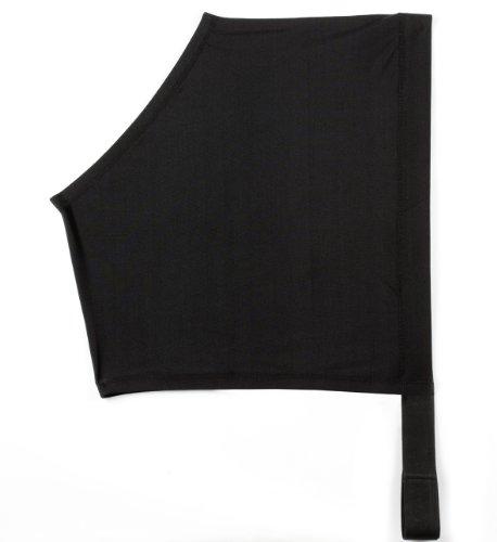 USG Teilörperdecke, schwarz, XL