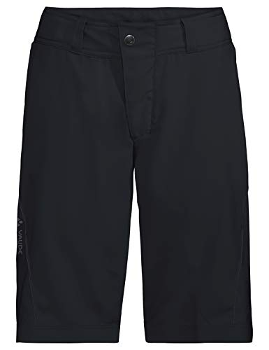 VAUDE Damen Hose Ledro Shorts für den Radsport, black, 38, 414340100380