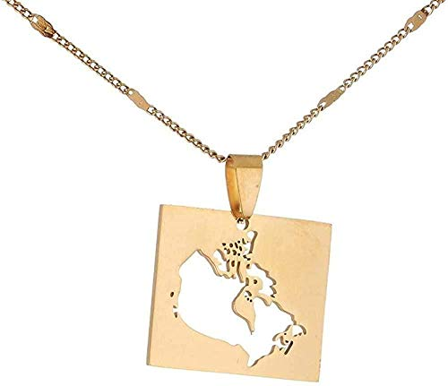 ZPPYMXGZ Co.,ltd Collar de Moda Collar de Chapado de Acero de Titanio Moneda de 18 Quilates Cuerda de clavícula Corta para Mujeres Plateadas 40 + 5cm Love Her Best Gift