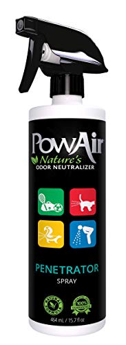 PowAir Penetrator Spray All-Natural Odor Neutralizer & Stain Remover, 16oz
