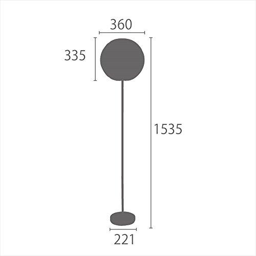フロアライト北欧1灯間接照明スタンドライトledレトロフロアスタンドYFL-539
