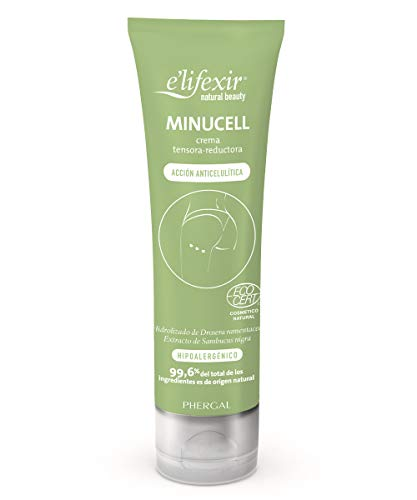 E'LIFEXIR Natural Beauty Minucell. Anticelulítico y Reductor Piel Naranja. 150ml
