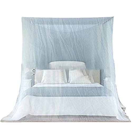 OKMNB Mosquitera Blanca Universal Net Fácil de Instalar Cama Colgante Net, Adecuado para Cama Individual a Cama tamaño Queen, Hamaca, Cuna White-200 * 200 * 180cm