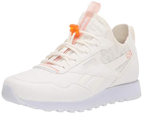 Reebok Classic Harman Run Tenis para mujer, Blanco (Negro/ blanco/ naranja), 37.5 EU