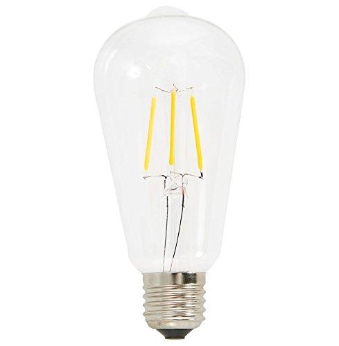 Alterego - Ampoule décorative vintage 'BUBUL LED LONG' à filament led