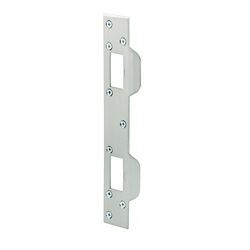 "Prime-Line MP10385 Max Security Combo Strike, 1-5/8"" x 11"", Steel, Satin Nickel, Pack of 1"