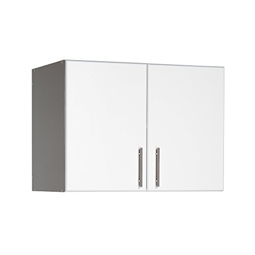 "32"" Stackable White Ready to Assemble Wall Cabinet"