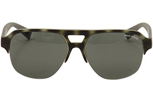 Armani sunglasses for men and women A|X Armani Exchange AX4056S Sunglasses 820387-59 – Matte Havana Smoked Pearl