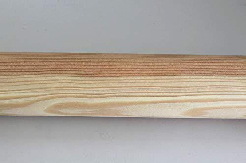 Rundhandlauf Geländer Handlauf Rundholz Griff in vielen Holzarten Lärche d=42mm unbehandelt l=130cm