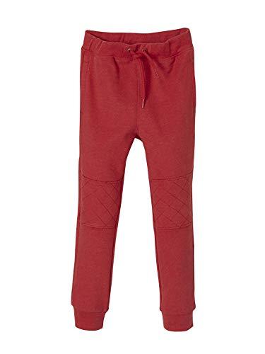 Vertbaudet Jungen Sweathose, Bedruckte Tasche hinten, Rot, Gr.- 2 Jahre/ 86