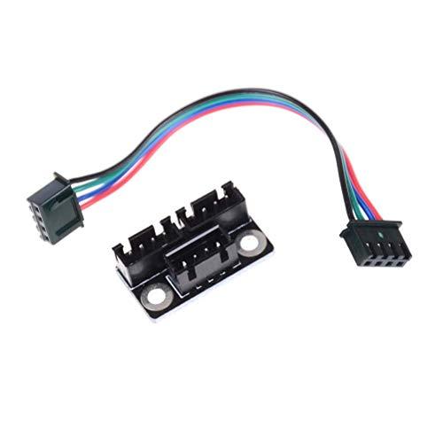 LONGJUAN-C 3D printer accessories, 2 pcs Motor Parallel Module High Power Switching Module for Double Z Axis 3D Printer Board printer Power Supply Module