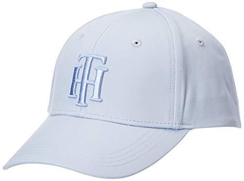Tommy Hilfiger TH Chic Cap Gorra de béisbol, Azul (Breezy Blue C), Talla Única (Talla del Fabricante: OS) para Mujer