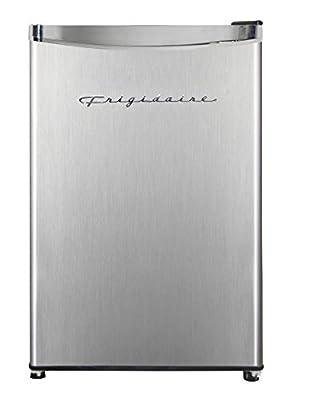 Frigidaire EFR323 3.2 cu ft Compact Fridge, Mini Refrigerator, Stainless Steel, Platinum Series